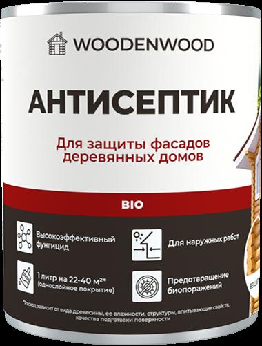Антисептик для защиты фасадов деревянных домов Bio