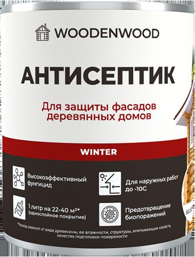 Антисептик для защиты фасадов деревянных домов WINTER